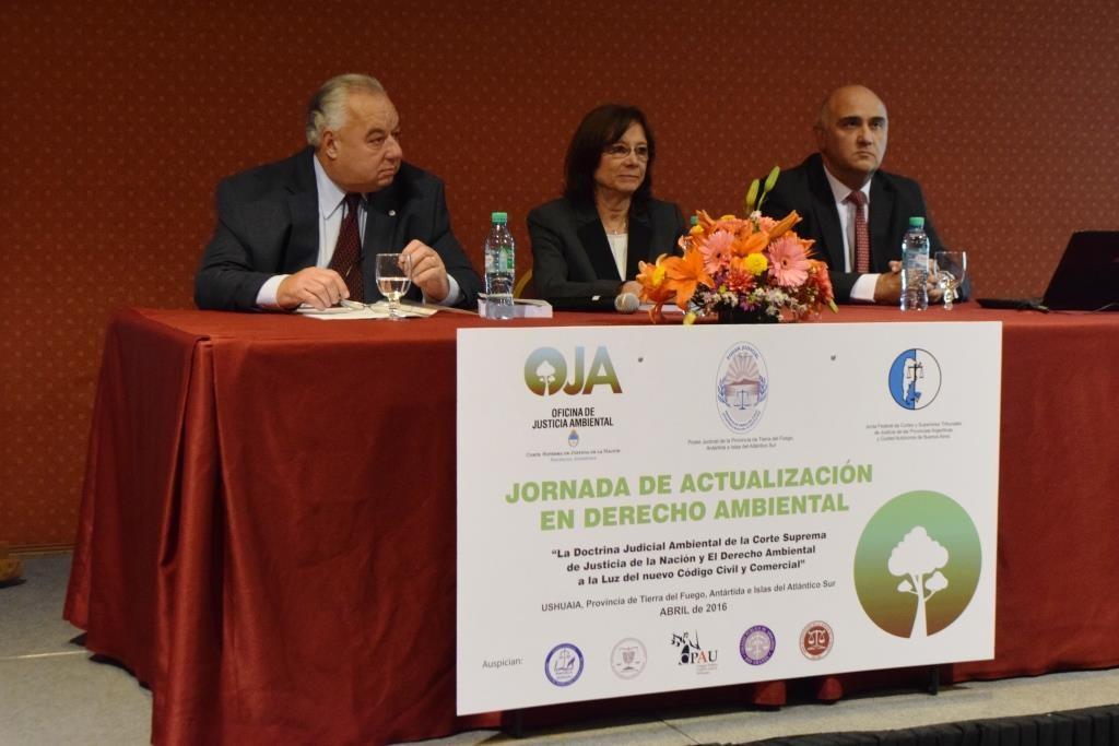 Panel presentacion libro Ambiente y Justicia