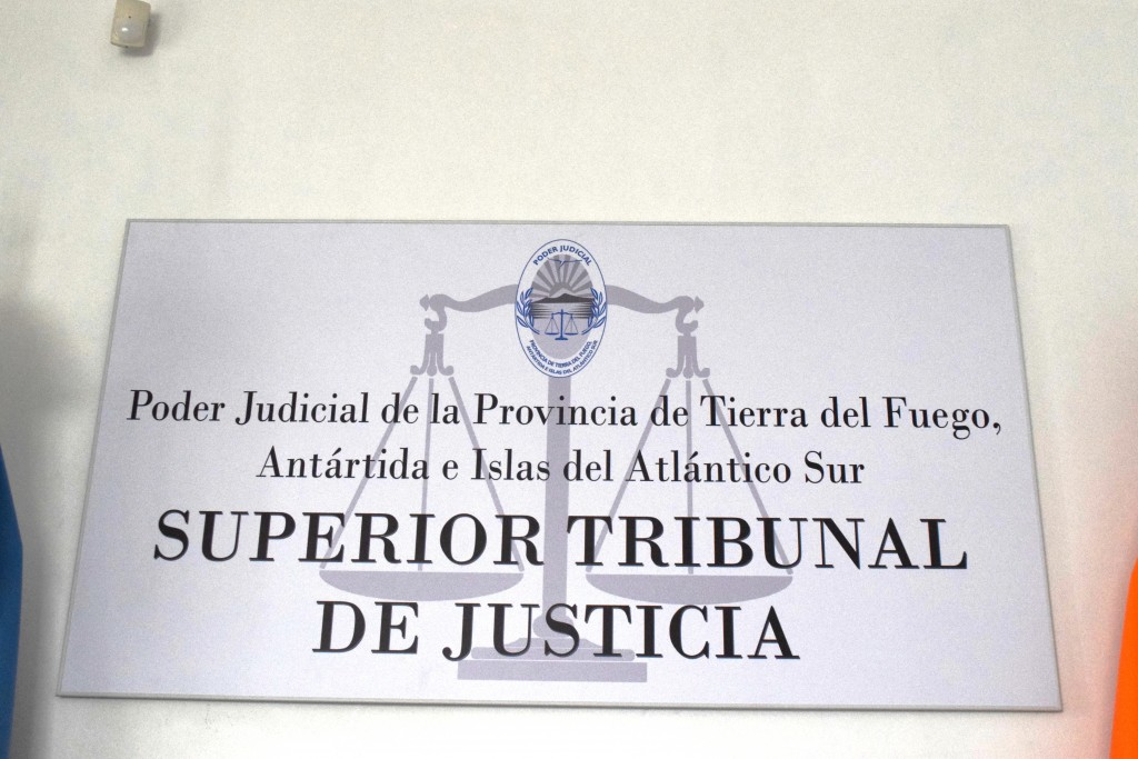 Cartel Superior Tribunal de Justicia (1)