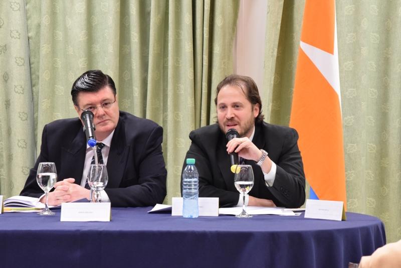 Doctores Sergio Bertero y Eduardo Olivero