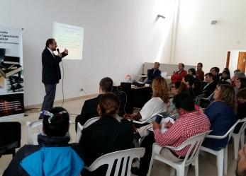 Nutrida concurrencia en capacitación sobre prensa y justicia en El Bolsón