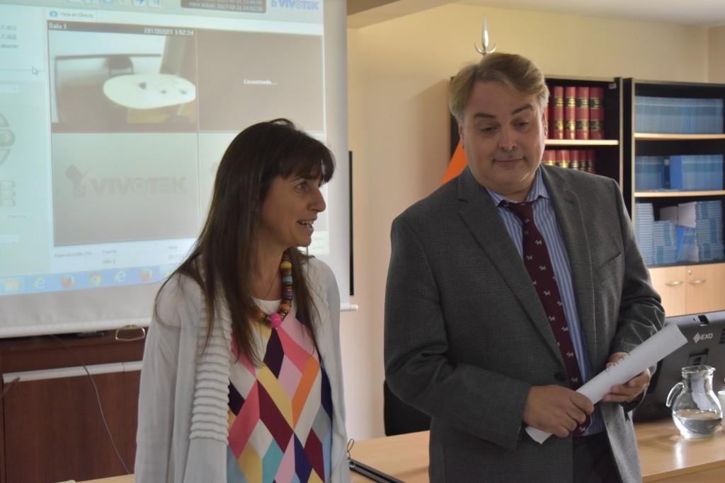 Presentación del Nuevo Secretario Académico Daniel Sattini