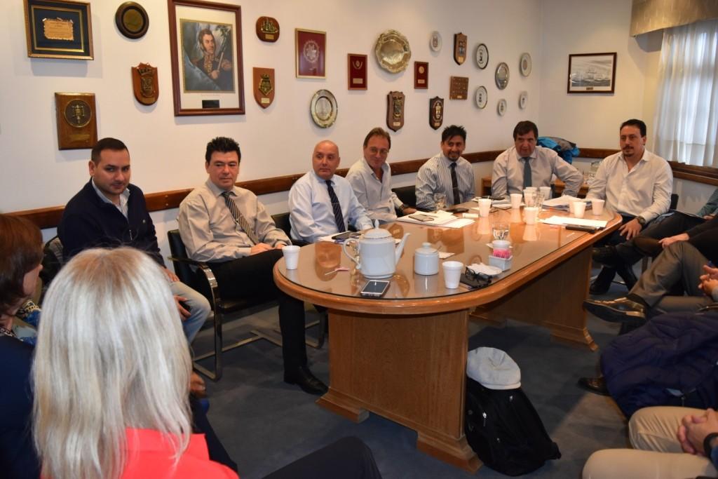 Reunion con Ministros de Justicia y de Obras Públicas 1