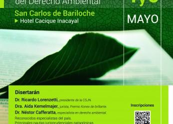 """Bariloche: se realizará el """"Congreso Patagónico de Derecho Ambiental"""""""