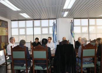 El Juez Sergio Barotto recibió a representantes de las provincias del Foro Patagónico Informático