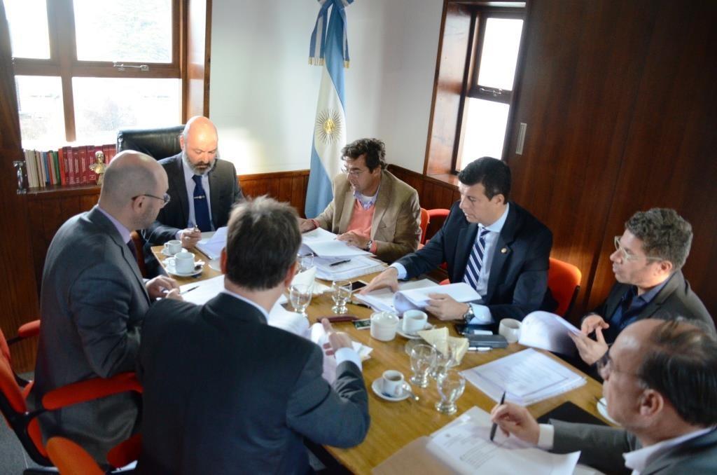 Reunion del Consejo de la Magistratura (1)
