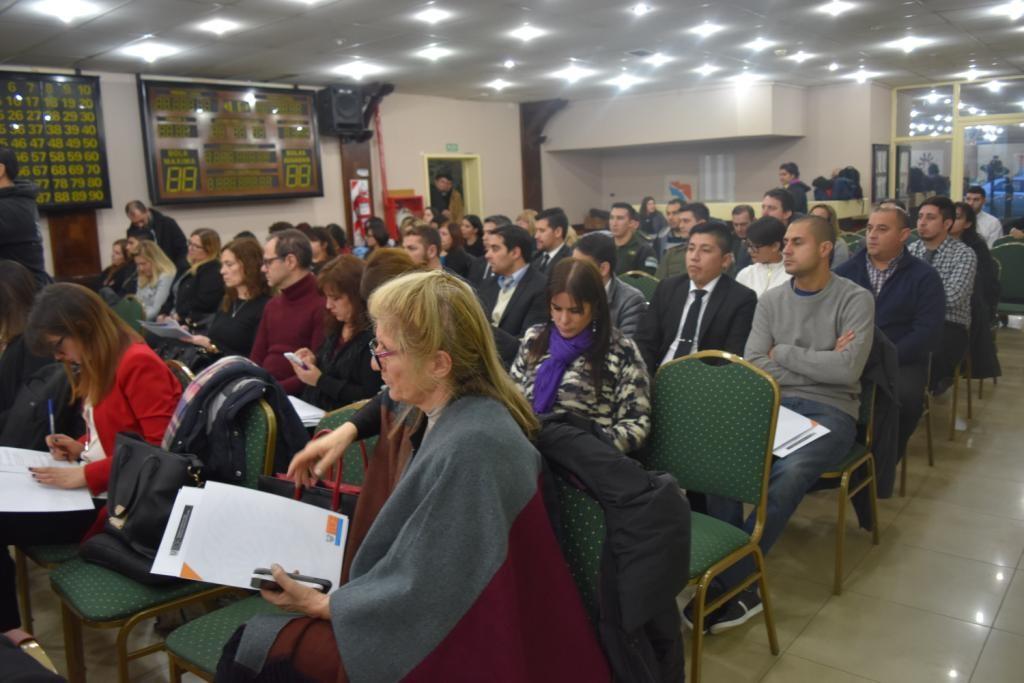 Doctora Silvia Vecchi en el encuentro provincial contra la trata y explotación de personas