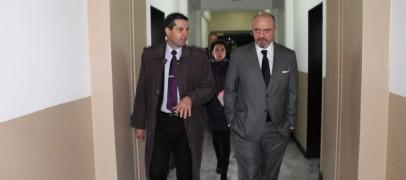 El Presidente del Superior Tribunal de Justicia recorrió  la Unidad de Detención N° 1 del Servicio Penitenciario