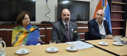 El Doctor García Rapp disertó sobre los sistemas jubilatorios de Magistrados y Funcionarios judiciales