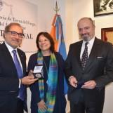 El Superior Tribunal de Justicia recibió al representante oficial para la Cuestión Malvinas