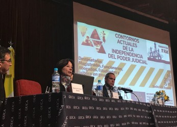 Magistrados y funcionarios expusieron sobre la independencia judicial