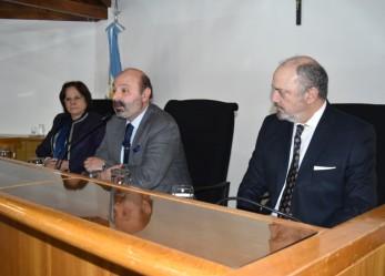 Muchnik abrió la Jornada de Justicia Terapéutica en Ushuaia