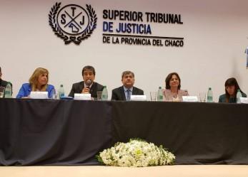 """26/09/2018 Battaini disertó en un panel sobre """"La visión Institucional de los Consejos de la Magistratura"""""""