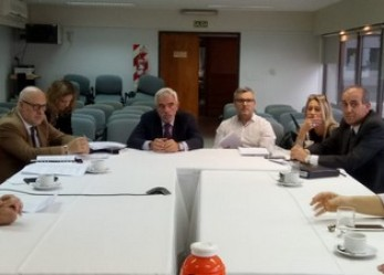 El ministro Vivas recibió a los jueces penales y directores de las oficinas judiciales
