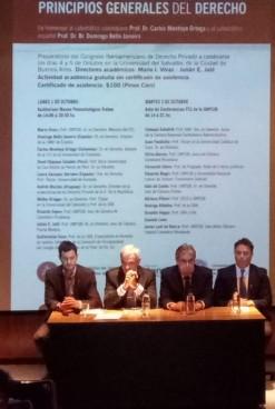 Se desarrolla en Trelew Congreso Internacional de Derecho