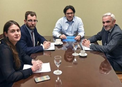 Vivas se reunió con Garavano por la Reforma Procesal en Chubut