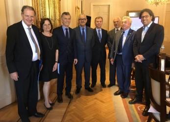 Integrantes de la Ju.Fe.Jus se reunieron con el Presidente Macri