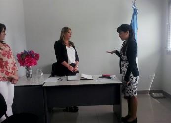 Milena Poblete Vera juró como Jueza de Paz segunda suplente de Madryn
