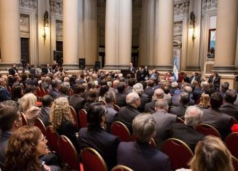 Battaini y Muchnik asistieron a la ceremonia de apertura del año judicial en la Corte Suprema