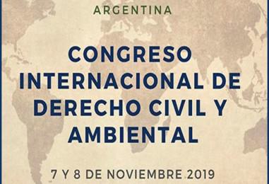 Congreso Internacional de Derecho Civil y Ambiental