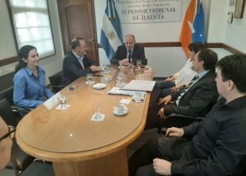 Firman convenio de cooperación y colaboración con el Centro Tecnológico de Tierra del Fuego