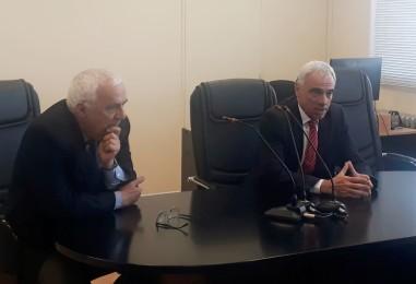 Mario Vivas se reunió con jueces de la cordillera