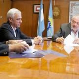 El Banco del Chubut firmó un acuerdo con el STJ para construir una nueva sucursal en Comodoro Rivadavia