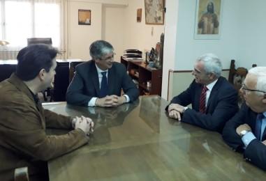 Mario Vivas se reunió con el Intendente de Esquel