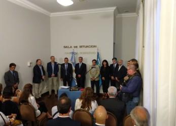 Vivas estuvo presente en la jura del nuevo Fiscal de Estado